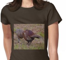 Pheasant and Chick... Seaton Devon UK Womens Fitted T-Shirt