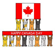 Happy Canada Day for Cat Lovers by KateTaylor