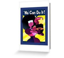 """We"" Can Do it! // Garnet Steven Universe Poster Greeting Card"