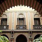 Detail of Courtyard - Casa do Alentejo, Lisbon by kkmarais