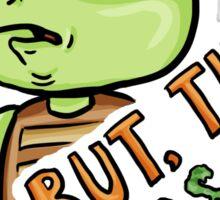 Germaphobe Turtle Sticker
