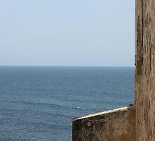 Castillo de San Cristóbal with View of Sea by Scott Larson