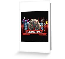 COC GOWIFE Greeting Card