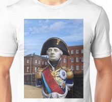 Statue of Admiral Horatio Lord Nelson Unisex T-Shirt