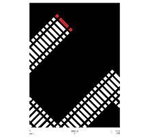 Schindler's List Minimal Film Poster Photographic Print