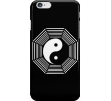 yin yang octagon symbol iPhone Case/Skin