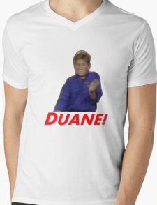 Duane! Mens V-Neck T-Shirt