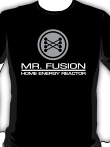Back to the Future - Mr Fusion - Home Energy Reactor (Dark) T-Shirt