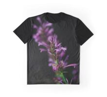 Purple flowers Graphic T-Shirt