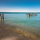 Old Pier At Fifty Point  by jules572