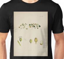 The botany of the Antarctic voyage of H M  discovery ships Erebus and Terror in the Years 1839 1843 Joseph Dalton Hooker V1 083 Unisex T-Shirt
