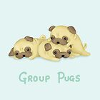 Group Pugs by Katie Corrigan