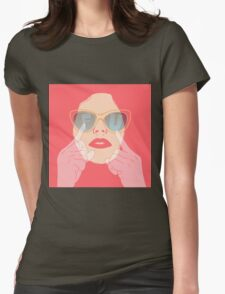 the subtle art of... Womens Fitted T-Shirt