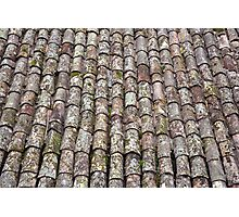Roofing tiles Photographic Print
