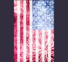 4th of July - American Firework Flag Unisex T-Shirt