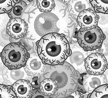 B&W eyes by JudithzzYuko