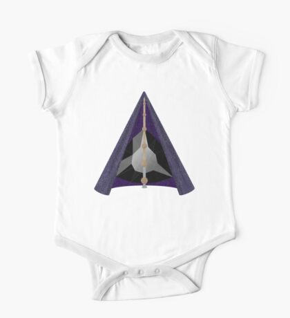 Materialized Deathly Hallows  One Piece - Short Sleeve