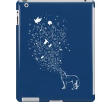 wolfsong for dark fabric iPad Case/Skin