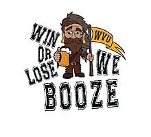 Win or Lose, We Booze - WVU Photographic Print