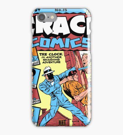 The Clock Comic Cover iPhone Case/Skin
