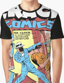 The Clock Comic Cover Graphic T-Shirt