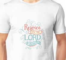 Rejoice in the Lord Unisex T-Shirt