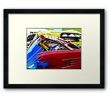 Super 88 Framed Print