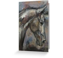 The Kind and Gentle Gelding Greeting Card
