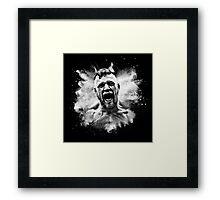 Conor McGregor Explosive Framed Print