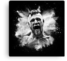 Conor McGregor Explosive Canvas Print