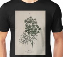 Wayside and woodland blossoms a pocket guide to British wild flowers for the country rambler  by Edward Step 1895 055 Fennel Unisex T-Shirt