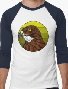 Hawked with your lord (C) Men's Baseball ¾ T-Shirt