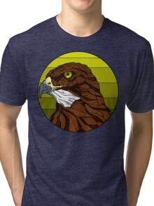 Hawked with your lord (C) Tri-blend T-Shirt