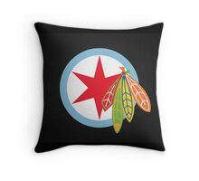 City of the Four Feathers – Alternate Throw Pillow