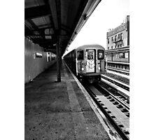 7 Train Photographic Print