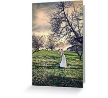 Lost in Day Dreams Greeting Card