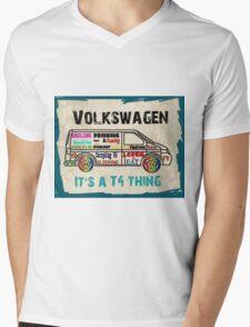It's a T4 Thing Mens V-Neck T-Shirt