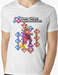 Dan Dan Revolution! Mens V-Neck T-Shirt