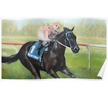 Champion Racehorse, Black Caviar Poster