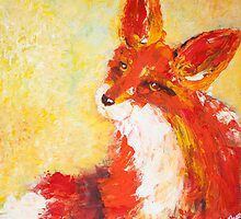Foxy by bluegirldesign