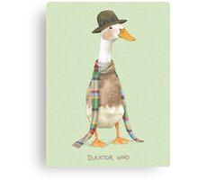 Ducktor Who Canvas Print