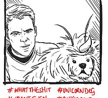 Kirk Meets UnicornDog by little-smartass