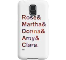 Doctor Who Companions Samsung Galaxy Case/Skin