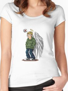 My Teenage Satan Women's Fitted Scoop T-Shirt