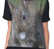 Cute bunny rabbit Chiffon Top