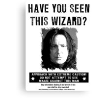 Wanted - Snape Canvas Print