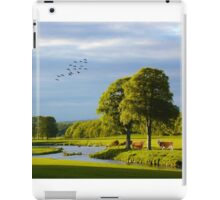 The Slaney River running through Co. Wexford iPad Case/Skin