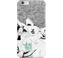 Birdie - Fineliner Illustration iPhone Case/Skin