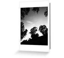 Ring of trees Greeting Card