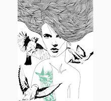 Birdie - Fineliner Illustration Unisex T-Shirt